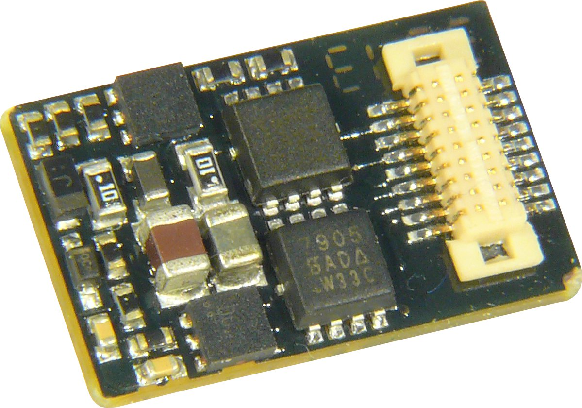 NEU ZIMO Elektronik MX645P16 Sounddecoder DCC//MM PluX16
